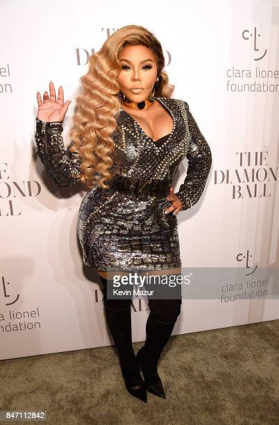 Lil' Kim attends Rihanna's 3rd Annual Diamond Ball Benefitting The Clara Lionel Foundation at Cipriani Wall Street on September 14 2017 in New York...