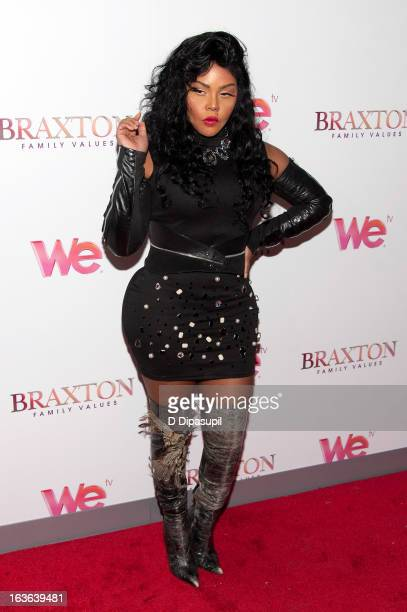 "Lil' Kim attends the ""Braxton Family Values"" Season Three premiere party at STK Rooftop on March 13, 2013 in New York City."