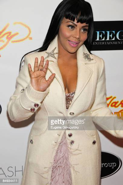 Lil' Kim attends the Faces of Fashion Week soiree at RDV on February 17 2009 in New York City