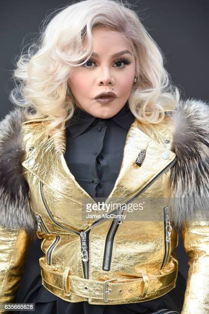 Lil' Kim attends the Marc Jacobs Fall 2017 Show at Park Avenue Armory on February 16, 2017 in New York City.