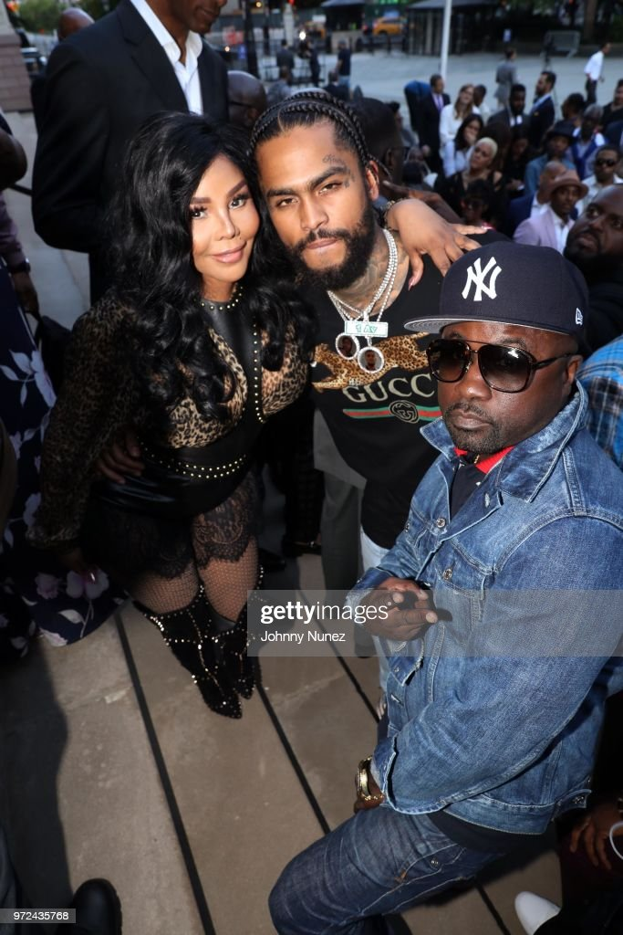 Lil Kim, Dave East, and Havoc attend the 3rd Annual Influence Awards at City Hall on June 11, 2018 in New York City.