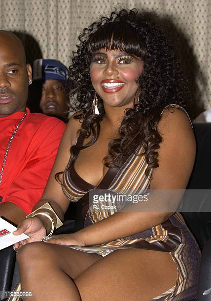 Lil' Kim during 6th Annual The Source HipHop Music Awards Announcement of the Official Nominees and New Categories at Millennium Broadway Hotel in...