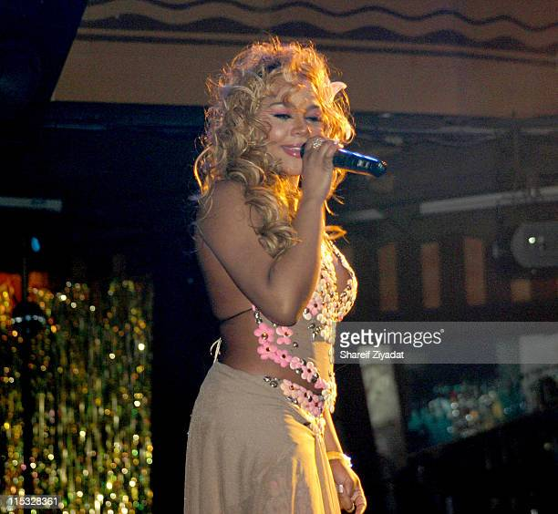 Lil' Kim during Fuse and Hot 97 Present Full Frontal Hip Hop with Host Lil' Kim at Webster Hall in New York, New York, United States.
