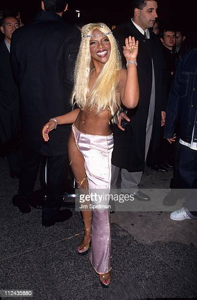 Lil Kim during 'Interview Magizine 30th Anniversary Presents David LaChapelle's Book Signing Party' at Kit Kat Klub in New York City New York United...