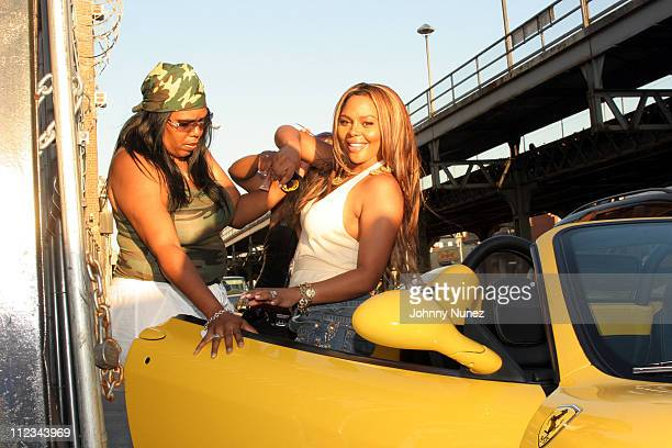 Lil Kim during Lil' Kim Video Shoot September 11 2005 at Atlantic Ave Brooklyn in Brooklyn New York United States