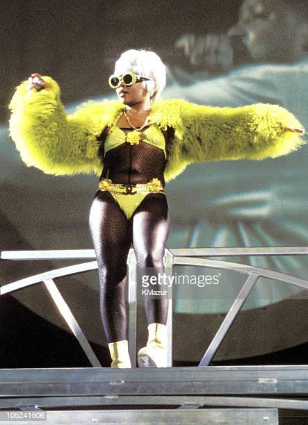 Lil' Kim during No Way Out Tour in New York, New York, United States.