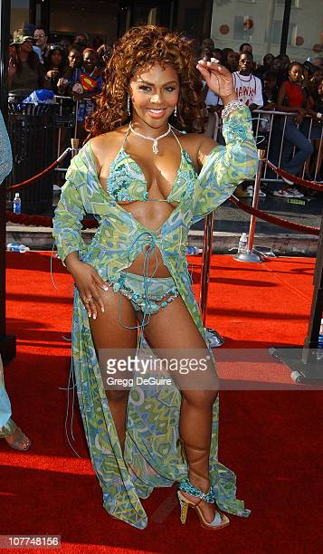 Lil' Kim during The 3rd Annual BET Awards - Arrivals at The Kodak Theater in Hollywood, California, United States.