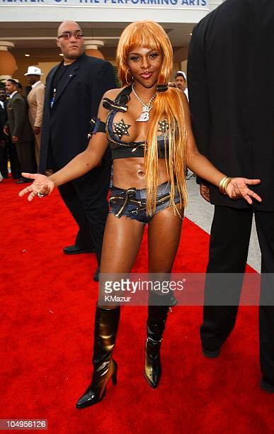 Lil' Kim during The Source HipHop Music Awards 2001 at Jackie Gleason Theatre in Miami Florida United States