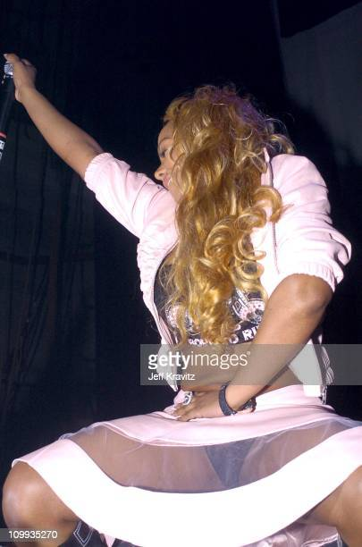 Lil' Kim during XTreme Entertainment Presents A Night to Remember at Henry Fonda Theater in Hollywood California United States