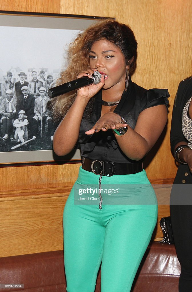 Lil Kim performs at the 1 year anniversary party at Bounce Sporting Club on September 19, 2012 in New York City.