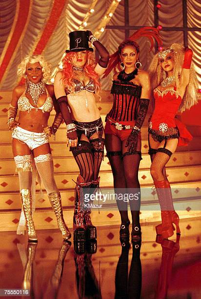 Lil' Kim, Pink, Mya, & Christina Aguilera