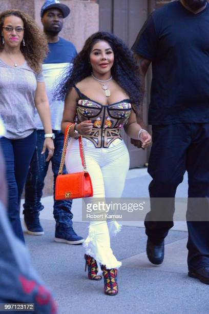 Lil Kim seen out in Tribeca celebrating her Birthday on July 11 2018 in New York City