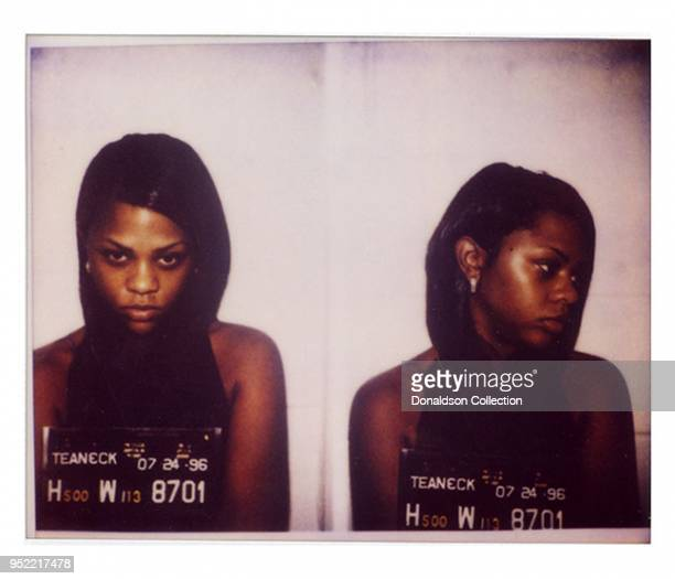 Lil' Kim was arrested by New Jersey cops in July 1996 and charged with possession of marijuana..