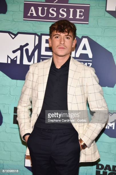 Lil' Kleine attends the MTV EMAs 2017 at The SSE Arena Wembley on November 12 2017 in London England
