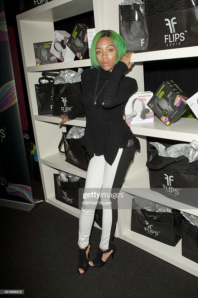 Flips Audio Headphones Sponsors the Official Artist Gift Lounge & Cumulus Radio Row At the American Music Awards - Day 2 : News Photo