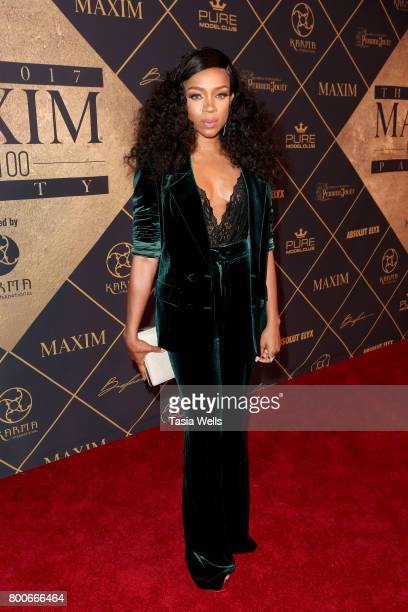 Lil Mama attends the 2017 MAXIM Hot 100 Party at Hollywood Palladium on June 24 2017 in Los Angeles California