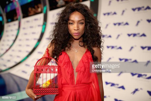 Lil Mama attends the 2017 MTV Video Music Awards at The Forum on August 27 2017 in Inglewood California