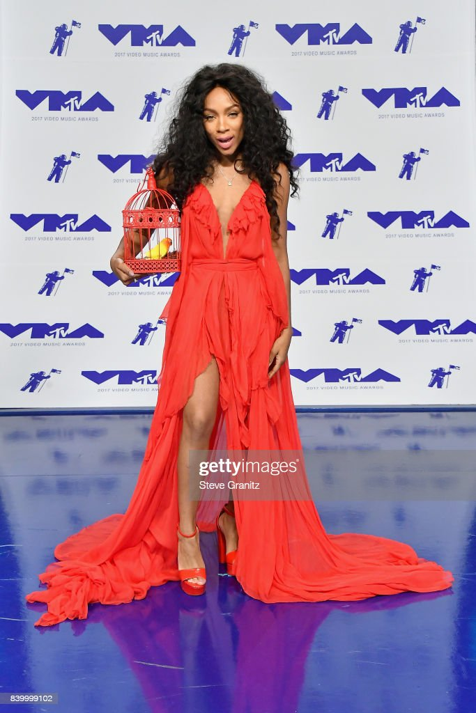 Lil Mama attends the 2017 MTV Video Music Awards at The Forum on August 27, 2017 in Inglewood, California.