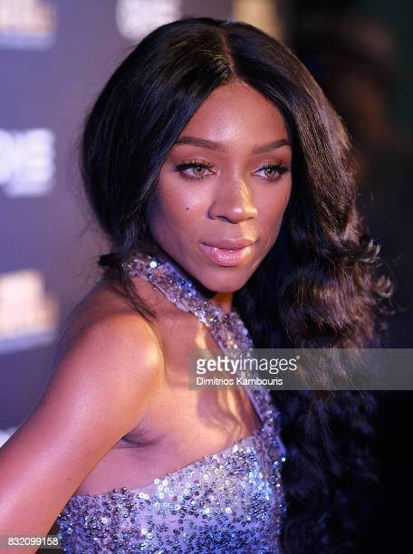 Lil Mama attends the 'When Love Kills The Falicia Blakely Story' New York Premiere at AMC Empire 25 theater on August 15 2017 in New York City