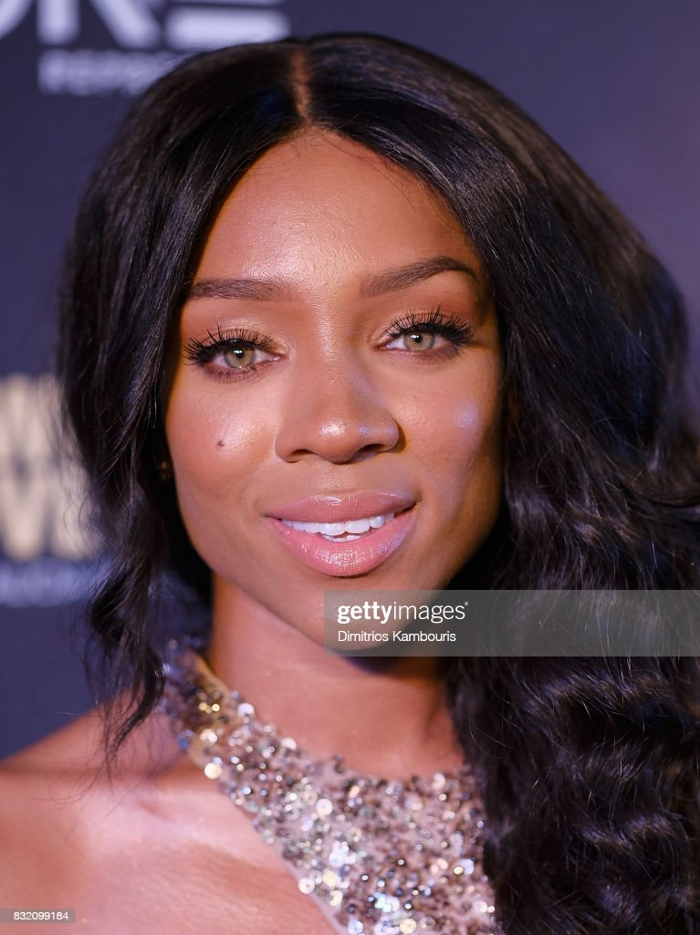 Lil Mama attends the 'When Love Kills: The Falicia Blakely Story' New York Premiere at AMC Empire 25 theater on August 15, 2017 in New York City.