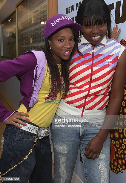Lil Mama Visits MTV's TRL at MTV Studios on July 3 2007 in New York City