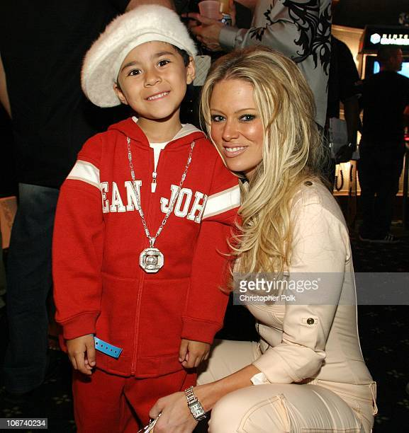 Lil Maxso and Jenna Jameson during G4 Celebrates 'GPhoria' A Live and Televised Celebration of Video Games at Henry Fonda Theatre in Hollywood...
