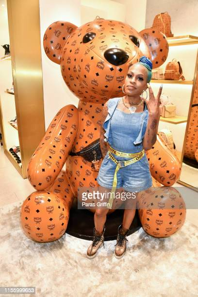 Lil' Mo attends MCM x Birthday Bash Kick Off Event at MCM Atlanta on June 14 2019 in Atlanta Georgia