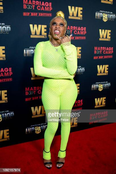 Lil Mo attends the exclusive premiere for 'WE TV hosts Hip Hop Thursday's at Nightingale on January 09 2019 in West Hollywood California