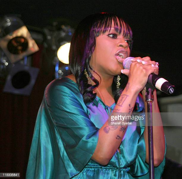 Lil Mo during Lil Mo and Sharissa in Concert at BB King's in New York City October 13 2005 at BB King's in New York City New York United States