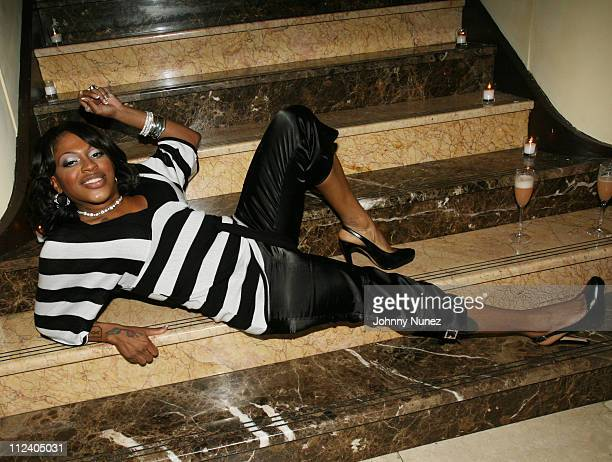 Lil Mo *EXCLUSIVE COVERAGE* during Kimora Lee Simmons Hosts an After Party for the Joint Baby Phat Fashions Show From Russia With Love at Cipirani in...