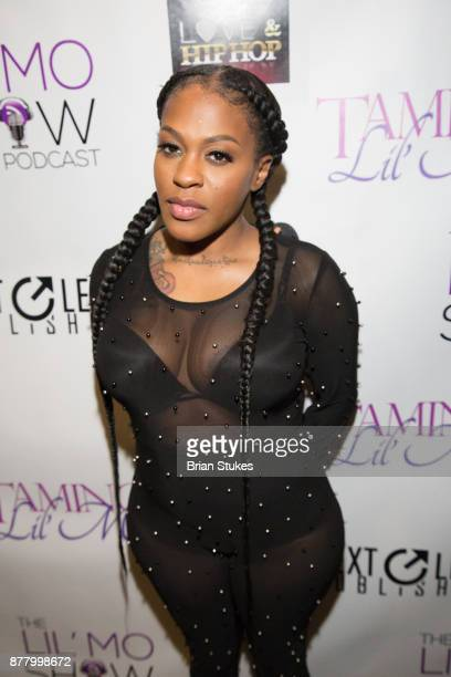 Lil' Mo hosts VH1 Love Hip Hop viewing party at Slate on November 20 2017 in Baltimore Maryland