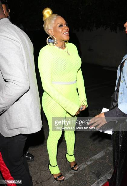 Lil Mo is seen on January 9 2019 in Los Angeles CA