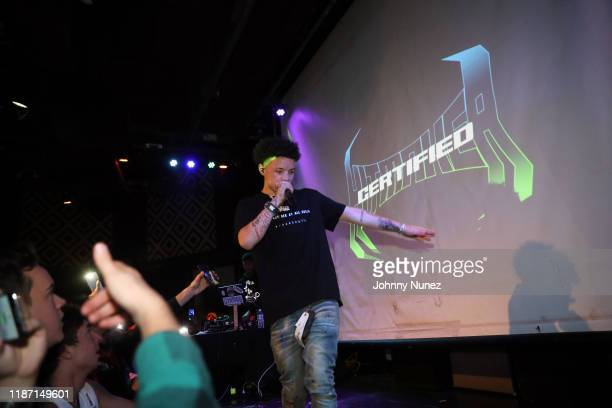 Lil Mosey performs at SOB's on November 11 2019 in New York City
