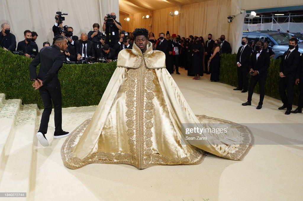 2021 Costume Institute Benefit - In America: A Lexicon of Fashion : Nieuwsfoto's