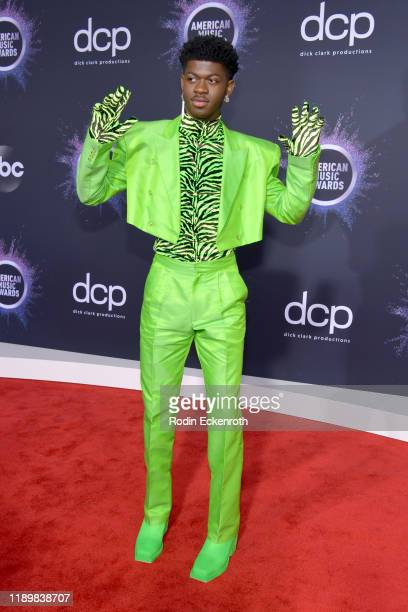 Lil Nas X attends the 2019 American Music Awards at Microsoft Theater on November 24, 2019 in Los Angeles, California.