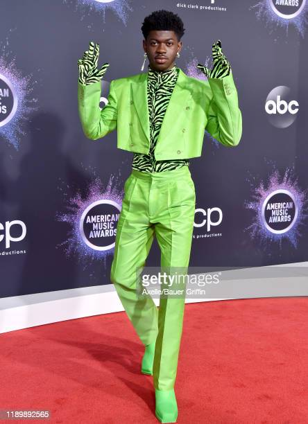 Lil Nas X attends the 2019 American Music Awards at Microsoft Theater on November 24 2019 in Los Angeles California