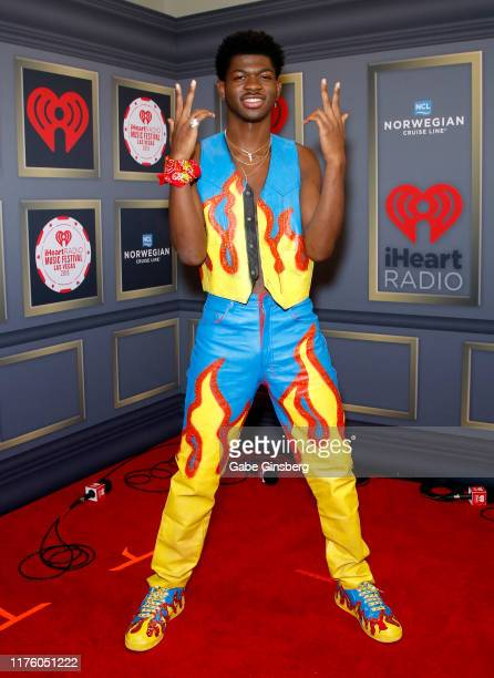 Lil Nas X attends the 2019 iHeartRadio Music Festival at TMobile Arena on September 20 2019 in Las Vegas Nevada