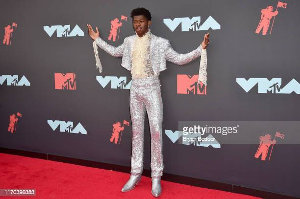 Lil Nas X attends the 2019 MTV Video Music Awards at Prudential Center on August 26, 2019 in Newark, New Jersey.