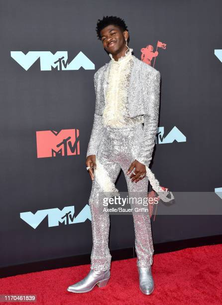 Lil Nas X attends the 2019 MTV Video Music Awards at Prudential Center on August 26 2019 in Newark New Jersey