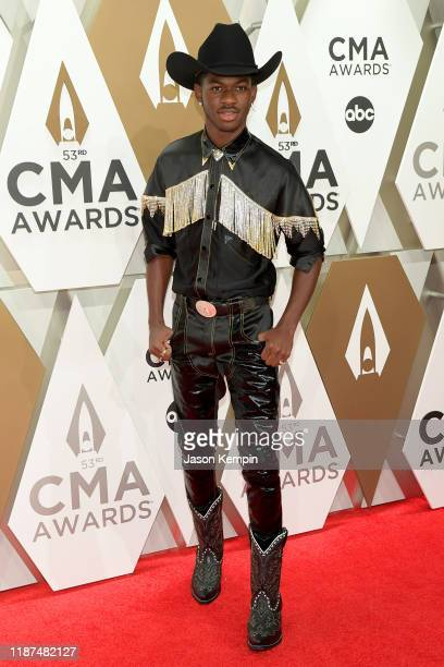 Lil Nas X attends the 53rd annual CMA Awards at the Music City Center on November 13 2019 in Nashville Tennessee