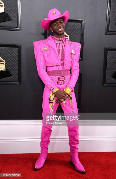 Lil Nas X attends the 62nd Annual GRAMMY Awards at Staples Center on January 26 2020 in Los Angeles California