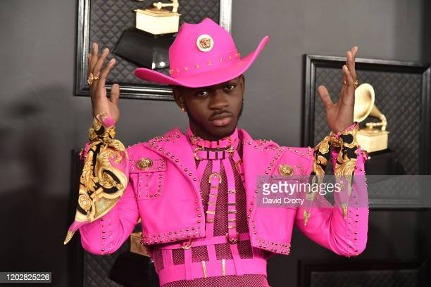 Lil Nas X attends the 62nd Annual Grammy Awards at Staples Center on January 26, 2020 in Los Angeles, CA.