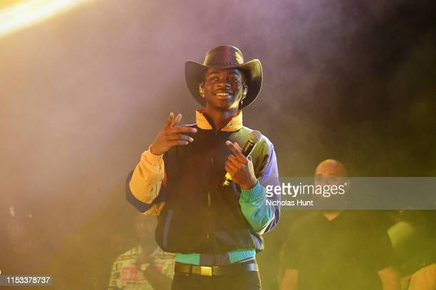 Lil Nas X performs at Summer Jam 2019 at MetLife Stadium on June 02 2019 in East Rutherford New Jersey
