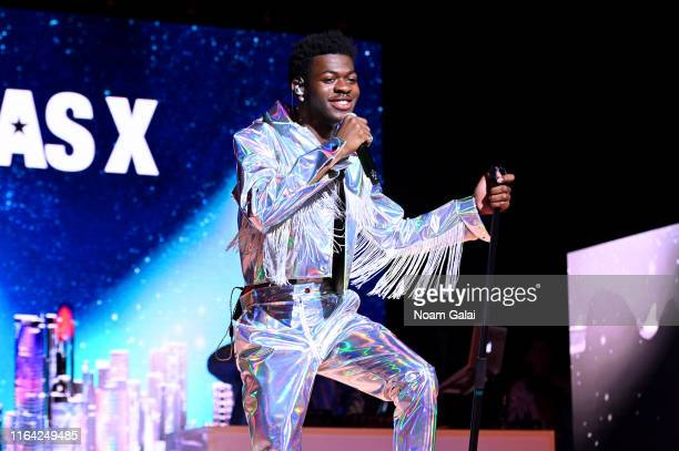 Lil Nas X performs on stage during Internet Live By BuzzFeed at Webster Hall on July 25 2019 in New York City