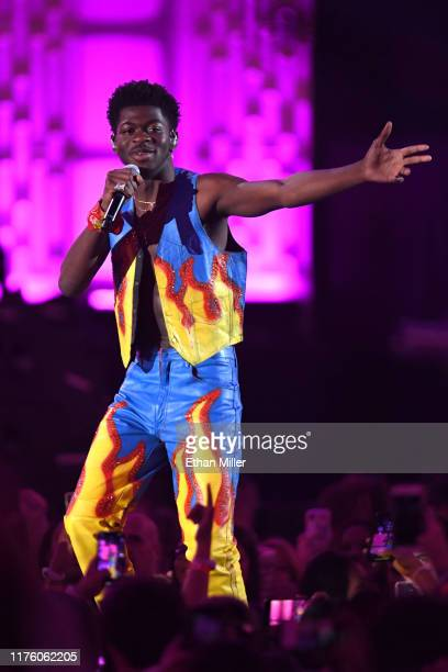 Lil Nas X performs onstage during the 2019 iHeartRadio Music Festival at T-Mobile Arena on September 20, 2019 in Las Vegas, Nevada.