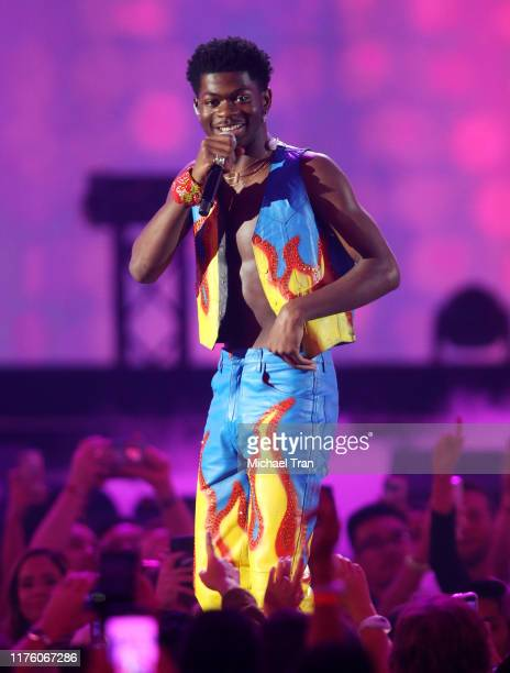 Lil Nas X performs onstage during the 2019 iHeartRadio Music Festival held at TMobile Arena on September 20 2019 in Las Vegas Nevada