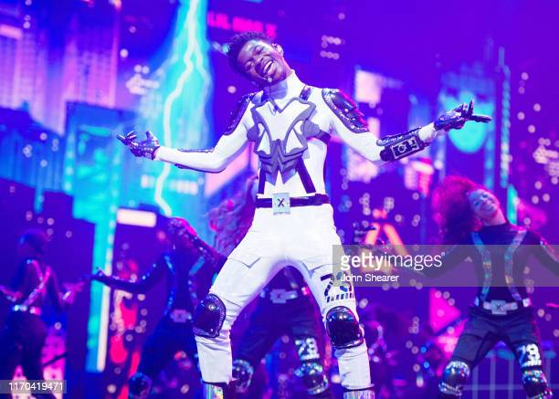 Lil Nas X performs onstage during the 2019 MTV Video Music Awards at Prudential Center on August 26 2019 in Newark New Jersey