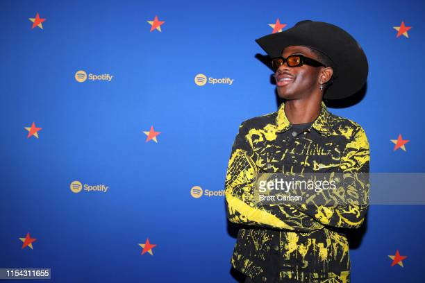 Lil Nas X visits the Spotify House during CMA Fest at Ole Red on June 06 2019 in Nashville Tennessee