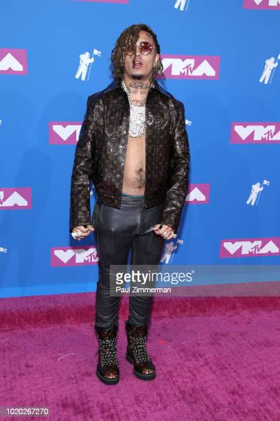 Lil Pump attends the 2018 MTV Video Music Awards at Radio City Music Hall on August 20 2018 in New York City