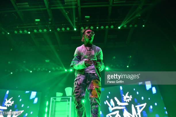 Lil Pump performs in concert at Coca Cola Roxy on May 14 2019 in Atlanta Georgia
